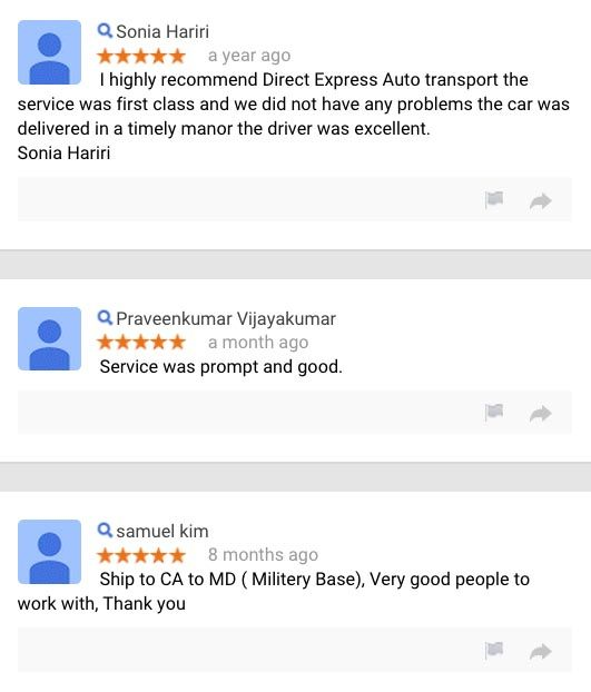 What Our Customers Are Saying About Us Direct Express Auto Transport Sayings Expressions Directions