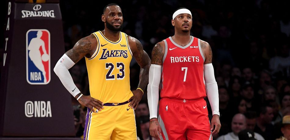 Nba Rumors La Lakers Could Acquire Carmelo Anthony In 3 Team Trade With Rockets Bulls Per Bleacher Report Will The Los Angeles Lake Carmelo Anthony Lakers Nba Rumors Nba Trades