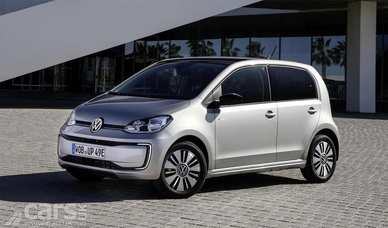 New Electric Volkswagen E Up Costs From 19 695 In The Uk City