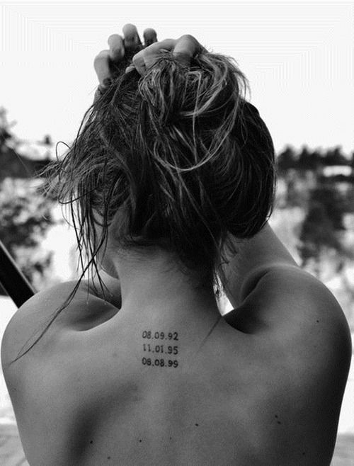 633fdffeb Pin by Ashley Marie on Tattoo | Tattoos, Date tattoos, Mom tattoos