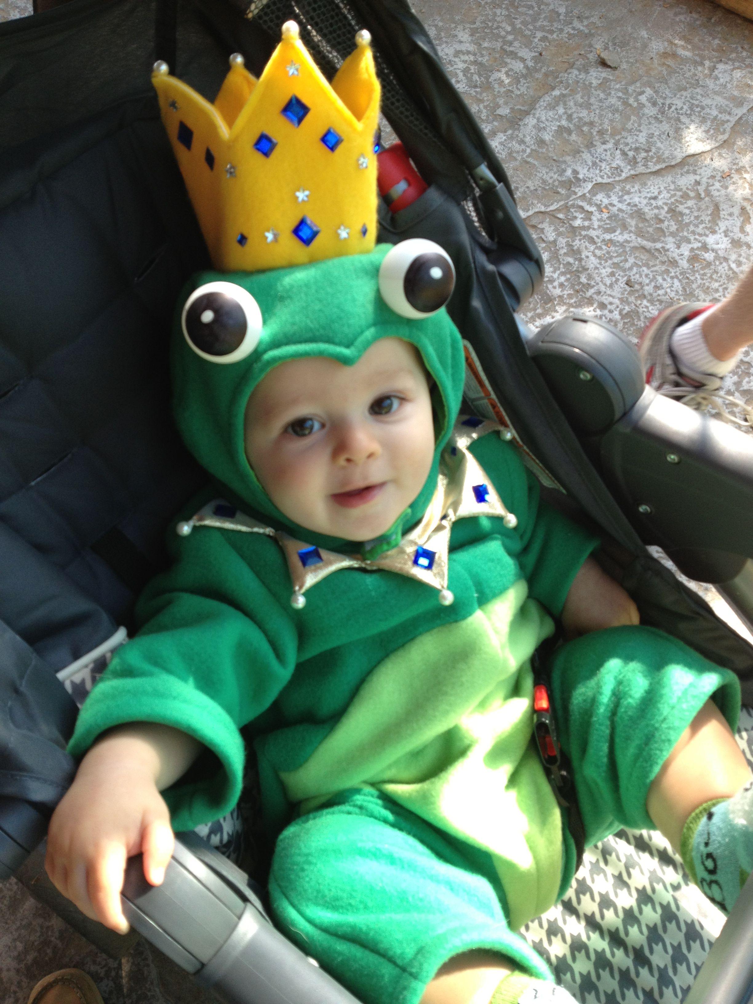 Frog Prince Child Baby   Kostüm Froschkönig  Kinder Karneval Fasching