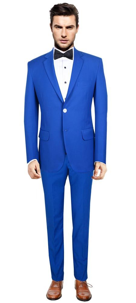 blue suits for men - Căutare Google | MARTY WEDDING OUTFIT | Pinterest