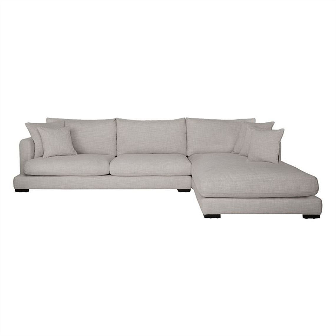 Hamilton 3 Seat Fabric Modular Sofa With Right Chaise Modular Sofa Fabric Sofa Hamilton Sofa
