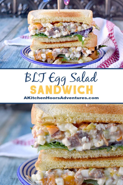 BLT Egg Salad Sandwich