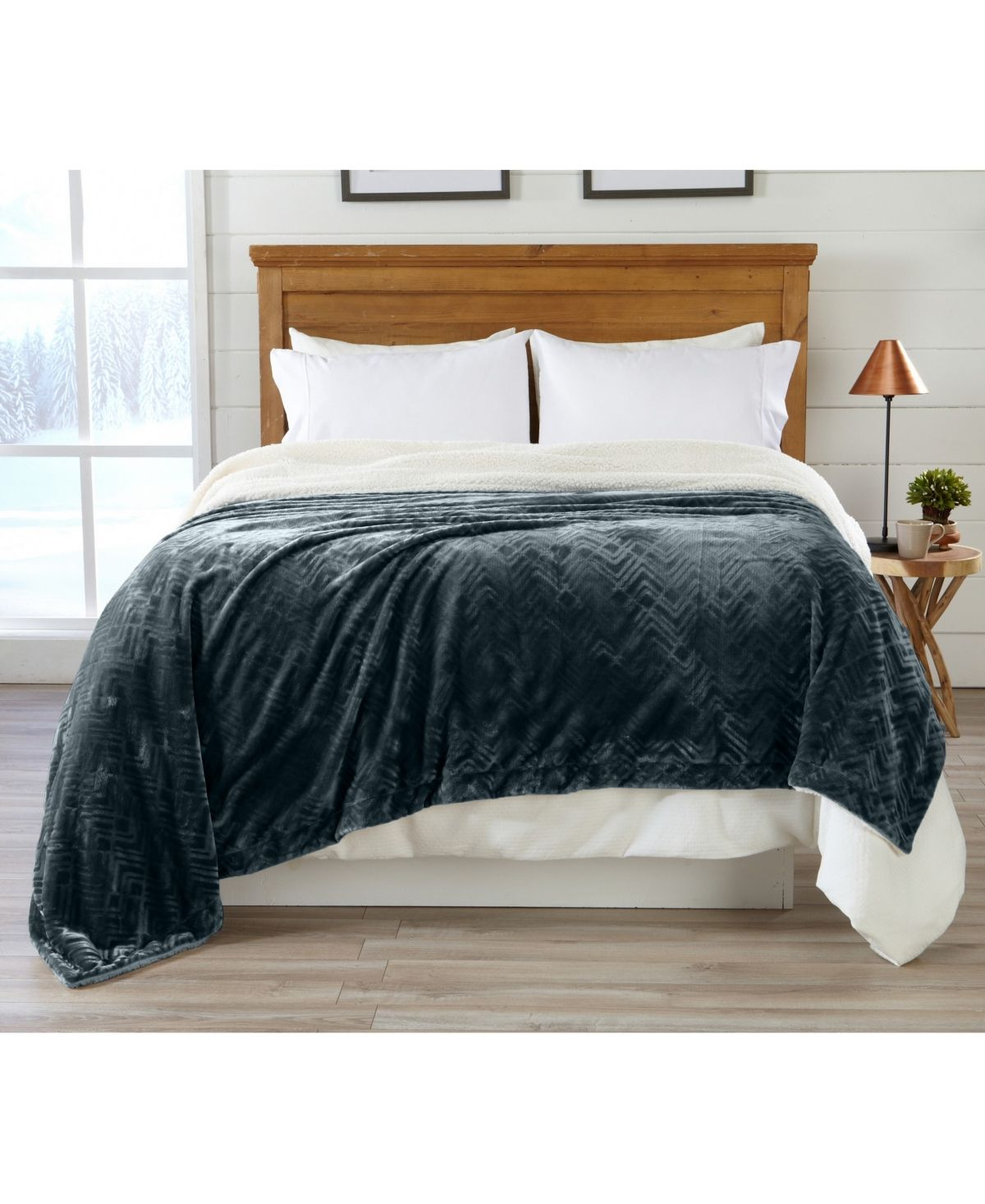 Home Fashion Designs Home Fashions Designs Berber Velvet Plush Luxury King Bed Blanket Reviews Blankets Throws Bed Bath Macy S Luxury Blanket House Styles Luxury King Bed