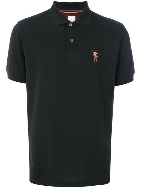 PAUL SMITH embroidered detail polo shirt. #paulsmith #cloth #shirt