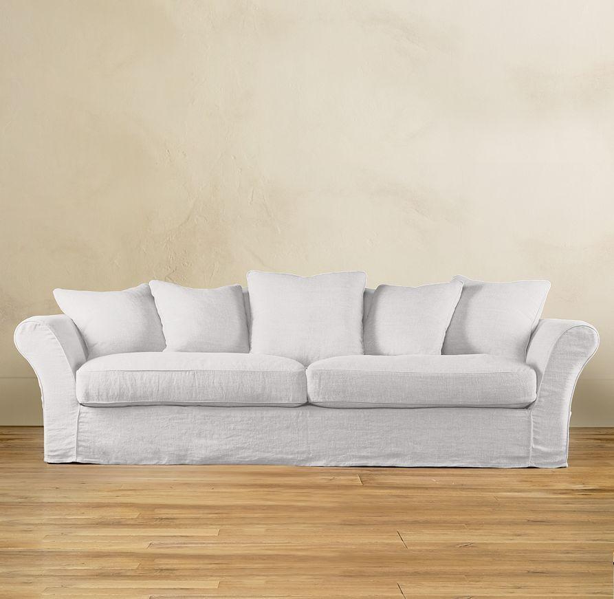 Camelback Slipcovered Sofas | Sofas | Restoration Hardware