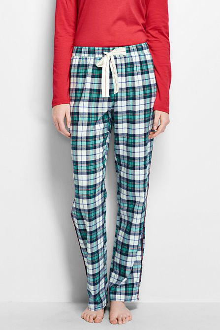 e591225dc1 Women s Print Flannel Pants from Lands  End
