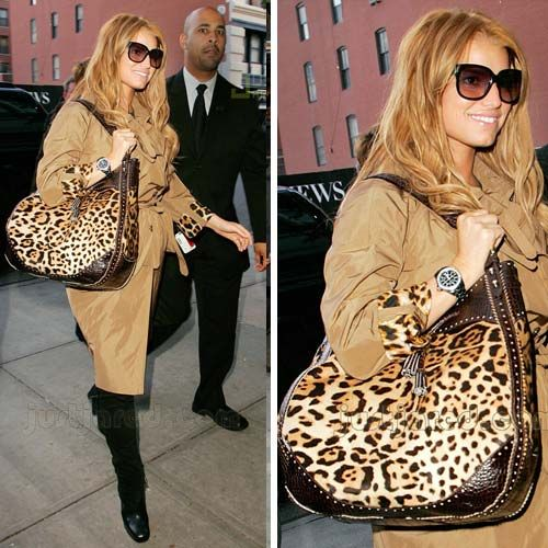 67a018e2d97a Gotta love the animal print bag. So chic and casual. Jessica Simpson  surprises me with her designs. They are affordable and some are very  fashionable.
