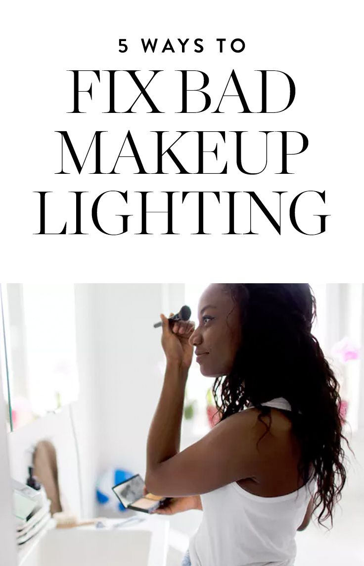 bathroom lighting makeup application. Here Are Five Easy Tweaks You Can Make To Your Bathroom Lighting That Will Improve Makeup Application. Application