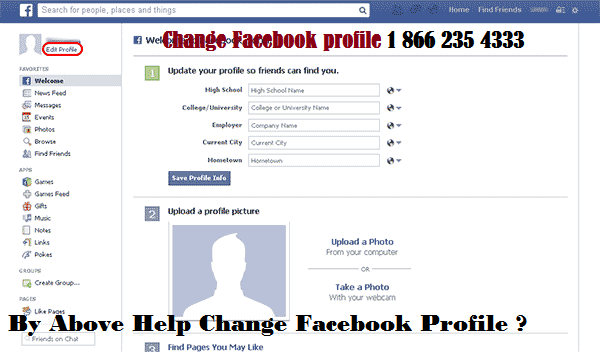How Do I Change Your Profile Picture On Facebook Facebook Profile Picture Profile Picture Facebook Profile