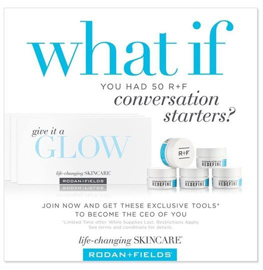 What if you were GIVEN 50 conversation starters to share when you