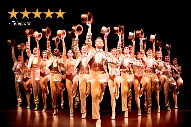 'A Chorus Line' at London Palladium