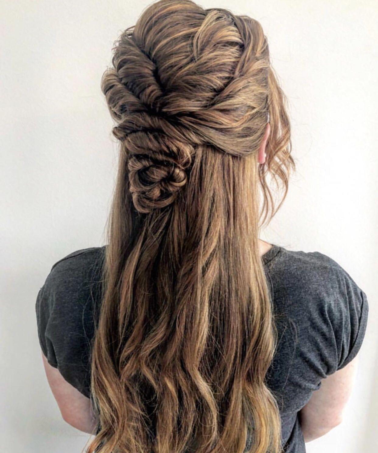Gedrehte Haare