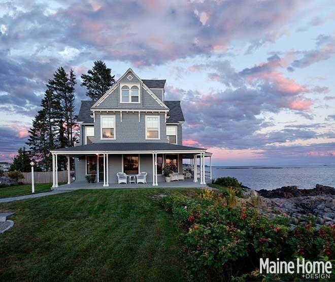 Beauty And The Beach Maine Home Design Tiny Beach House Maine House Beach Cottage Style
