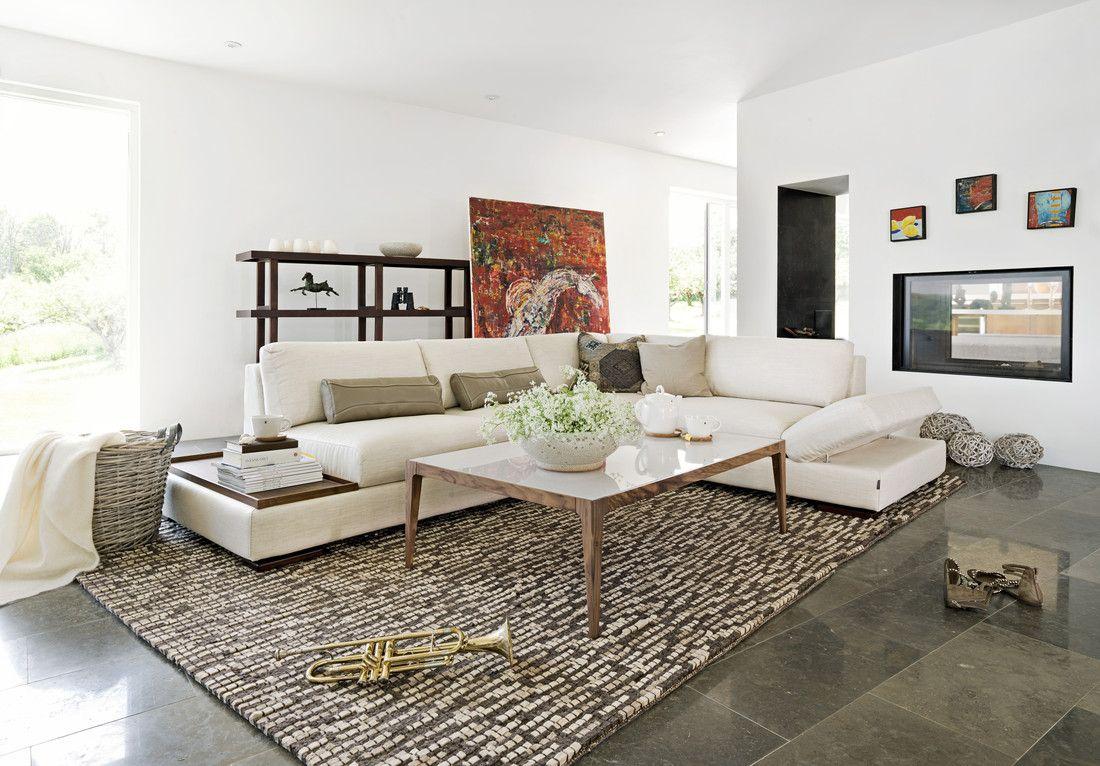 Cartago   Sofa, Creme und 30er