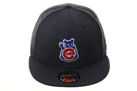 174546945d8 New Era 59Fifty Chicago Cubs Wave Fitted Hat - Graphite