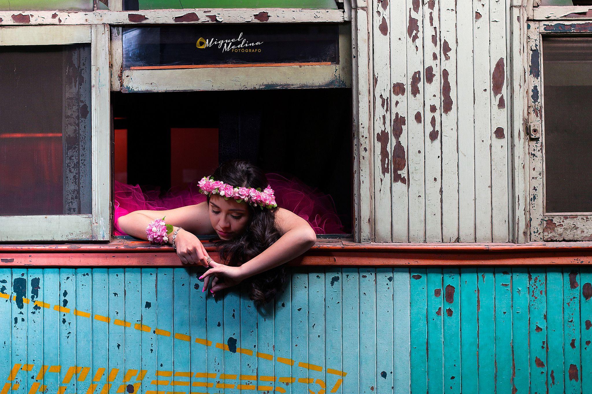 https://flic.kr/p/P1raw1   Photoshoot 15 Años Rocío   Sesión de Fotos en el Museo del Ferrocarril, Guatemala