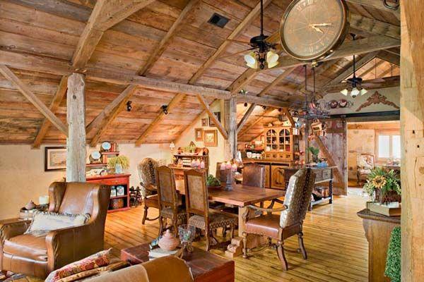 How To Turn A Barn Into A Beautiful Home Barn Loft Apartment Barn Living Barn Loft