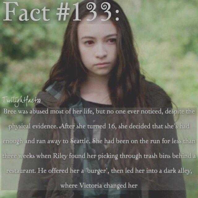 "264 Synes godt om, 2 kommentarer – Twilight Facts (@twilightfactss) på Instagram: ""~ Bree has such a sad backstory - Autumn {#twilightsaga#illustratedguide#breetanner#twifact133}"""