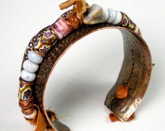 Moonstone Cuff Bracelet  Mystic Moonstone Silver Cuff by FebraRose