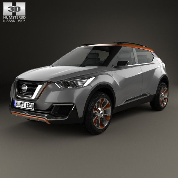 Nissan Kicks 2014 3d Model From Humster3d.com. Price: $75
