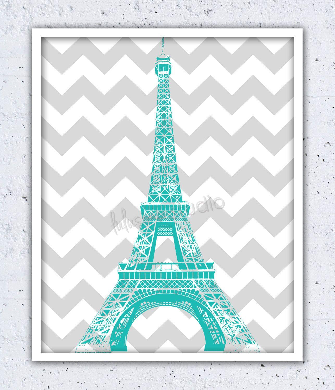 Eiffel Tower Wall Decor Wall Decor Paris by ...