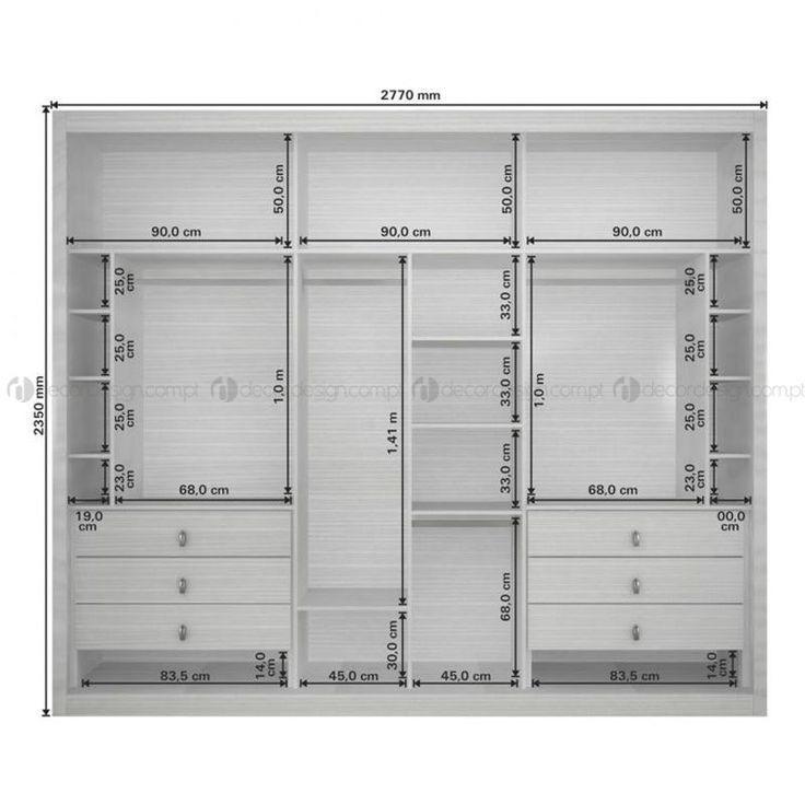 Las 30 mejores ideas para puertas de armario para mantener su habitación ordenada y ...