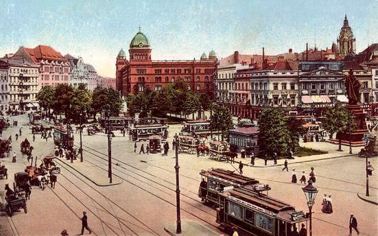 Berlin Alexanderplatz Ca 1900 Berlin