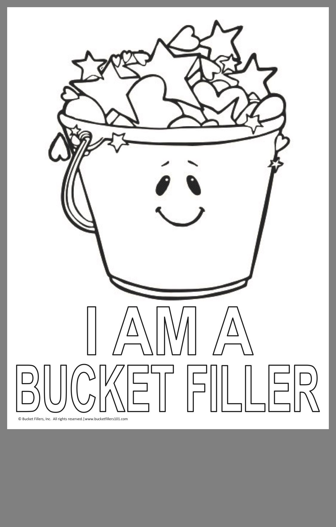 Positive School Culture Image By Sharla Bucket Filler Bucket