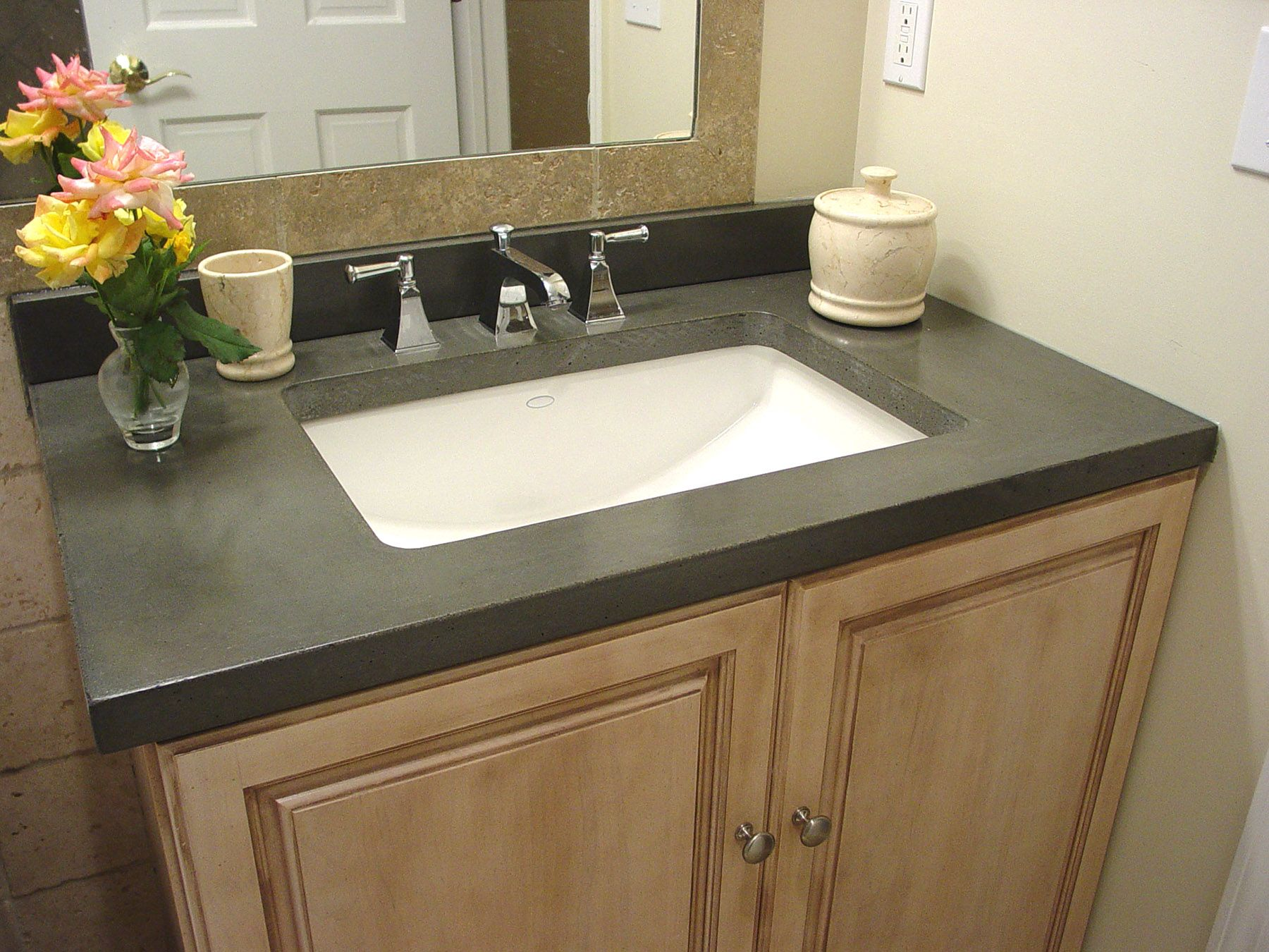 Concrete countertops show features how to build concrete countertops by concrete encounter