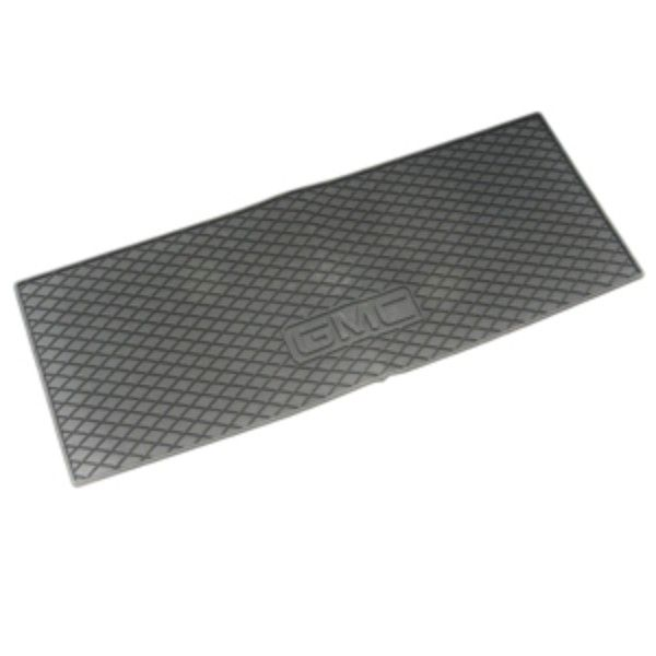 Acadia Cargo Area Mat Premium All Weather Gmc Logo Titanium