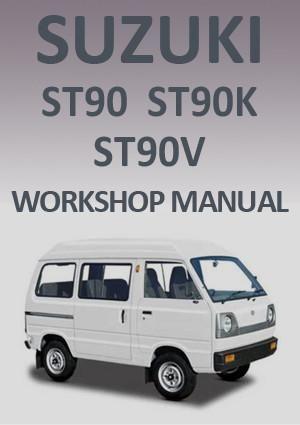 Suzuki St90 St90k St90v 1979 1985 Workshop Manual Workshop