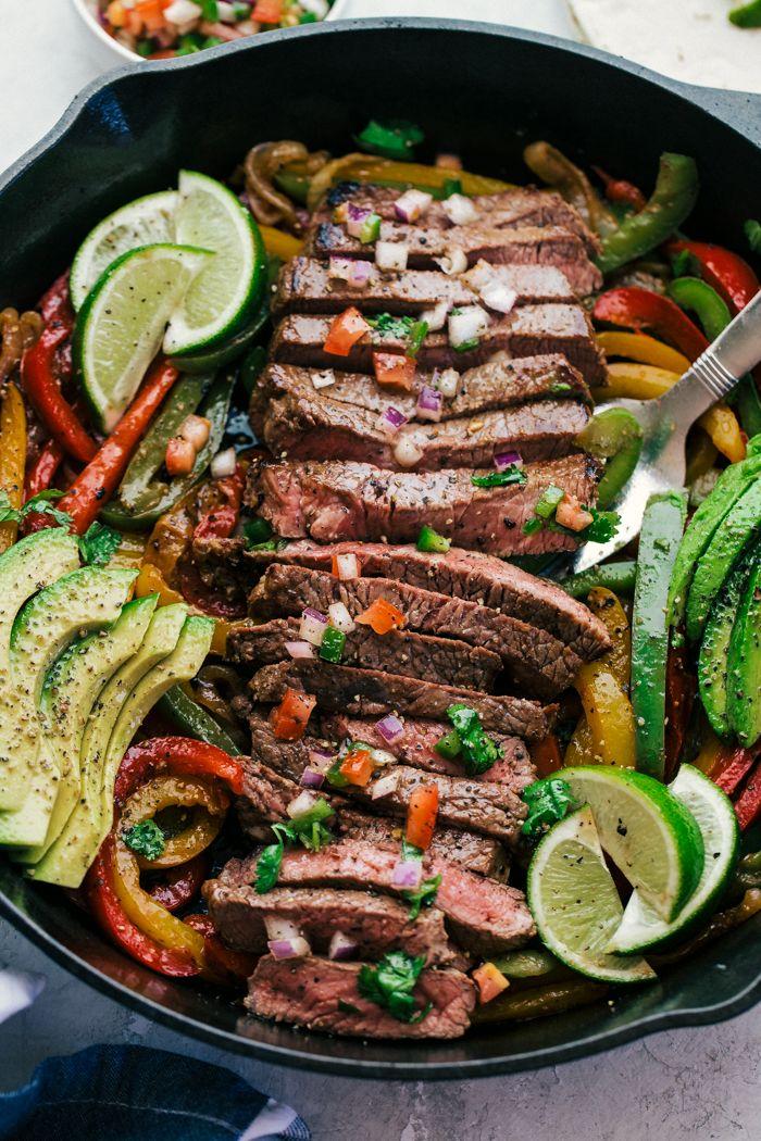 Steak Fajitas | The Food Cafe | Just Say Yum