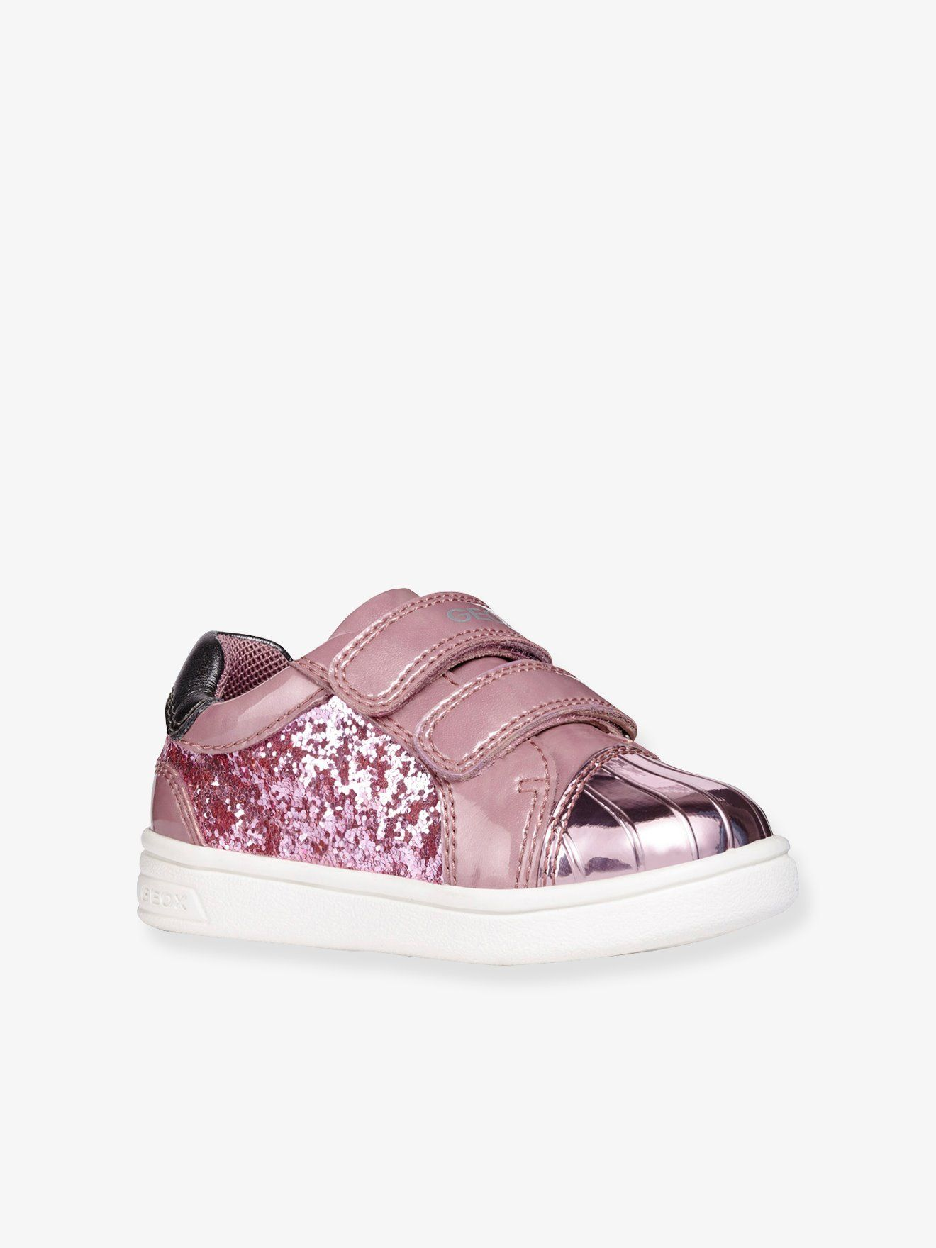 Baskets #bébé #fille DJ #Rock #Girl #GEOX® #rose Rendues