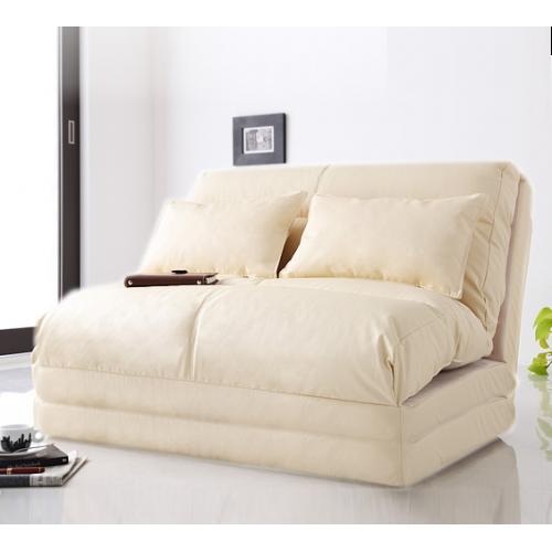 Flexi Futon Foldable Adjule Sofa Bed Double Ivory With Base Urban S Nz