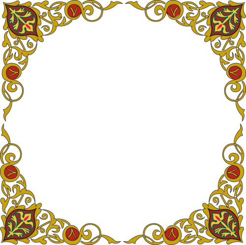 اطارات اسلامية للتصميم 12 6