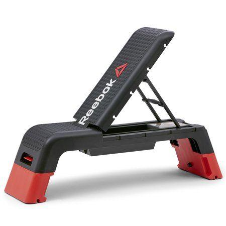Admirable Reebok Deck Black Products At Home Gym Home Gym Bench Creativecarmelina Interior Chair Design Creativecarmelinacom
