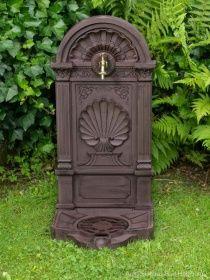 Standbrunnen 83cm Waschbecken Alu Brunnen Waschplatz Wandbrunnen Antik Stil  | Auktionshaus Bad Homburg
