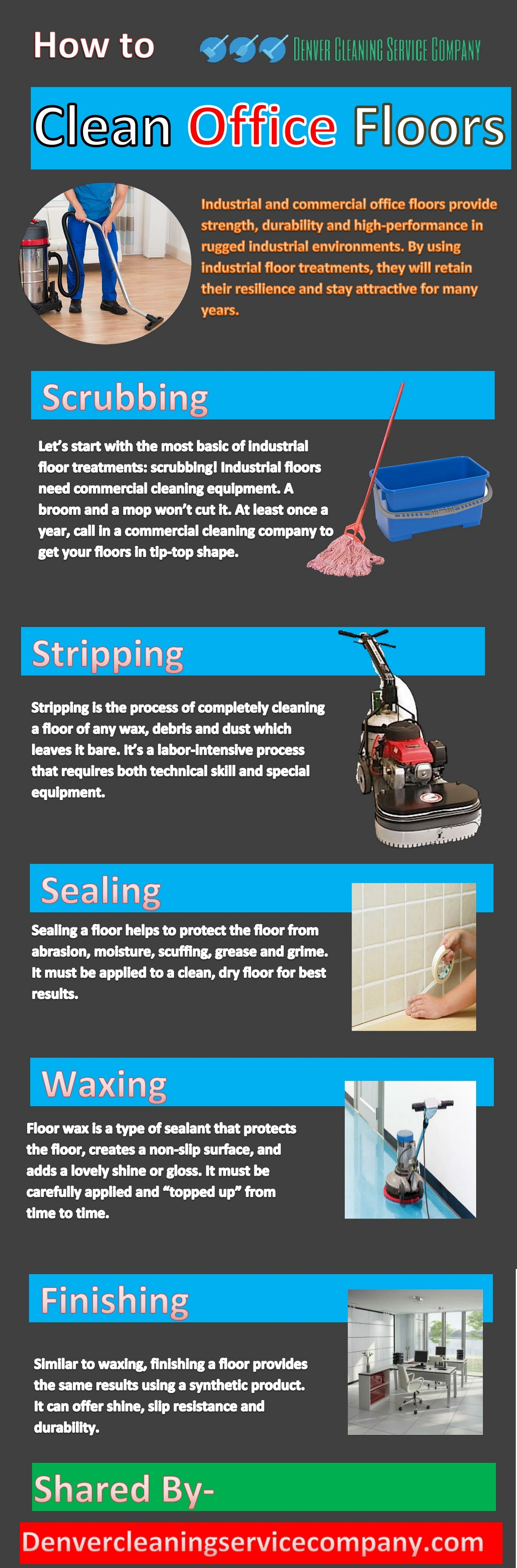 How To Clean Office Floors Clean office, Cleaning
