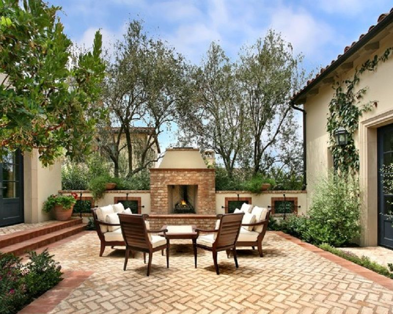 Mexican Patios and Gardens Images | ... Patio Remodeling Ideas for ...