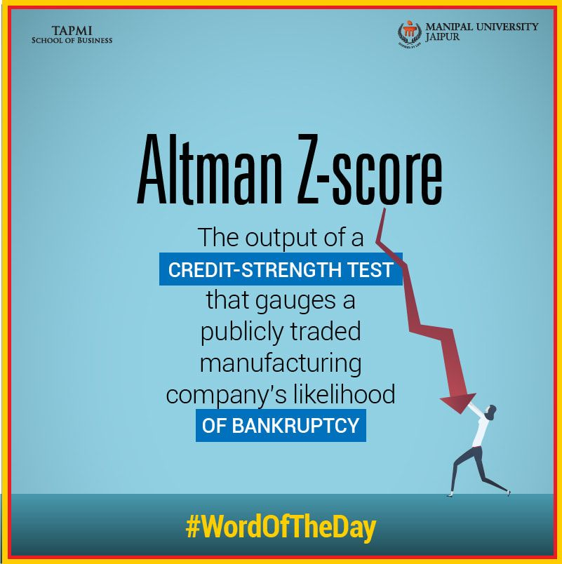Worldoftheday Altman Z Score School List Business