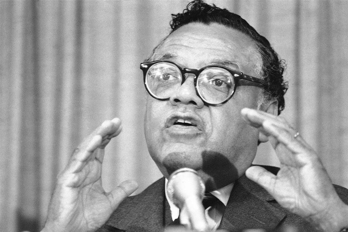William Coleman Civil Rights Attorney And Former Cabinet