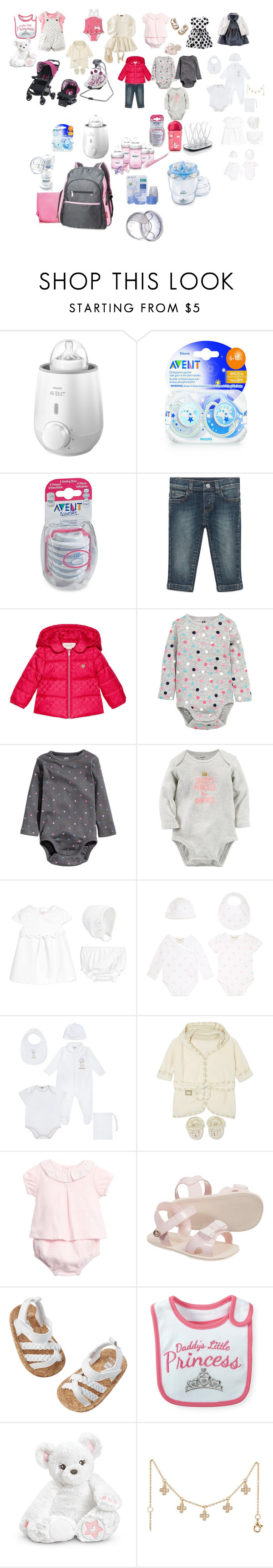 """""""Untitled #21"""" by lauracruzsoriano-2 on Polyvore featuring Philips, Gucci, Graco, H&M, Armani Junior, Calvin Klein, Laranjinha, Carter's and Nayla Arida"""