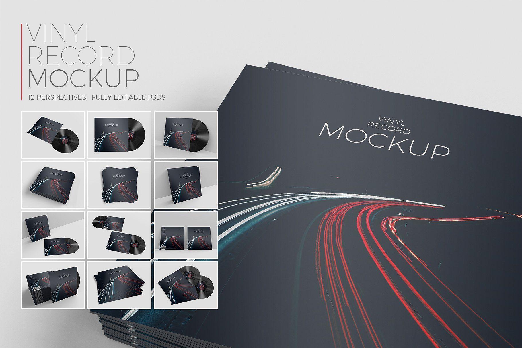 Download Vinyl Record Mockup Mockup Vinyl Records Freelance Graphic Design