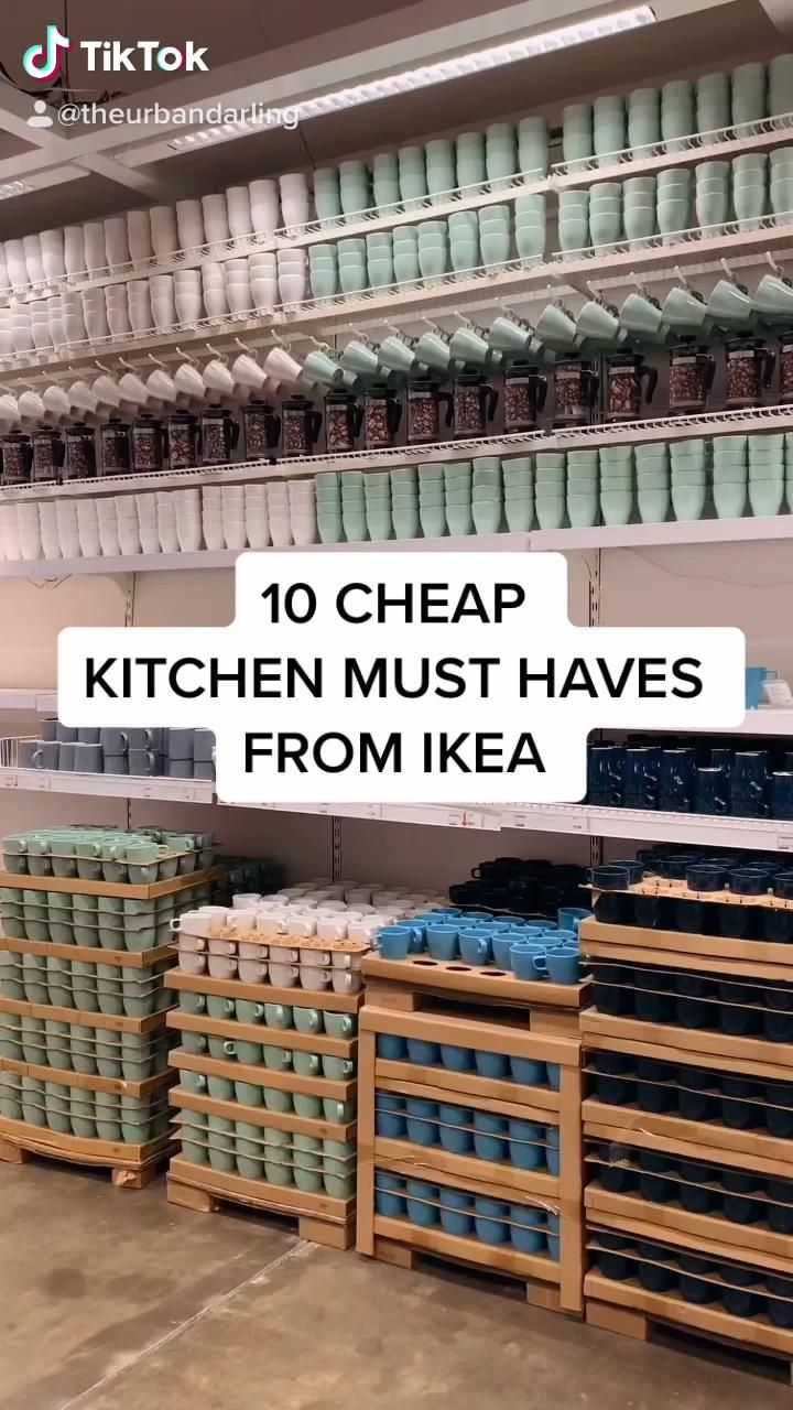 10 Cheap Kitchen Must Haves From Ikea