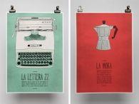 italian-themed posters