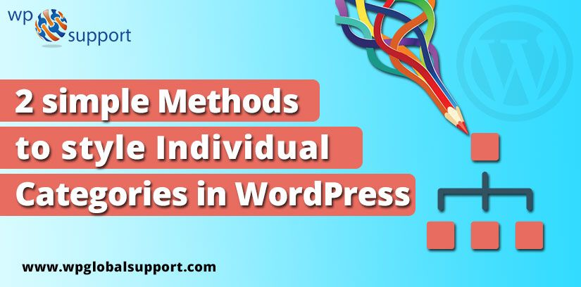 Most Of The Wordpress Themes Use The Same Template For Each Category