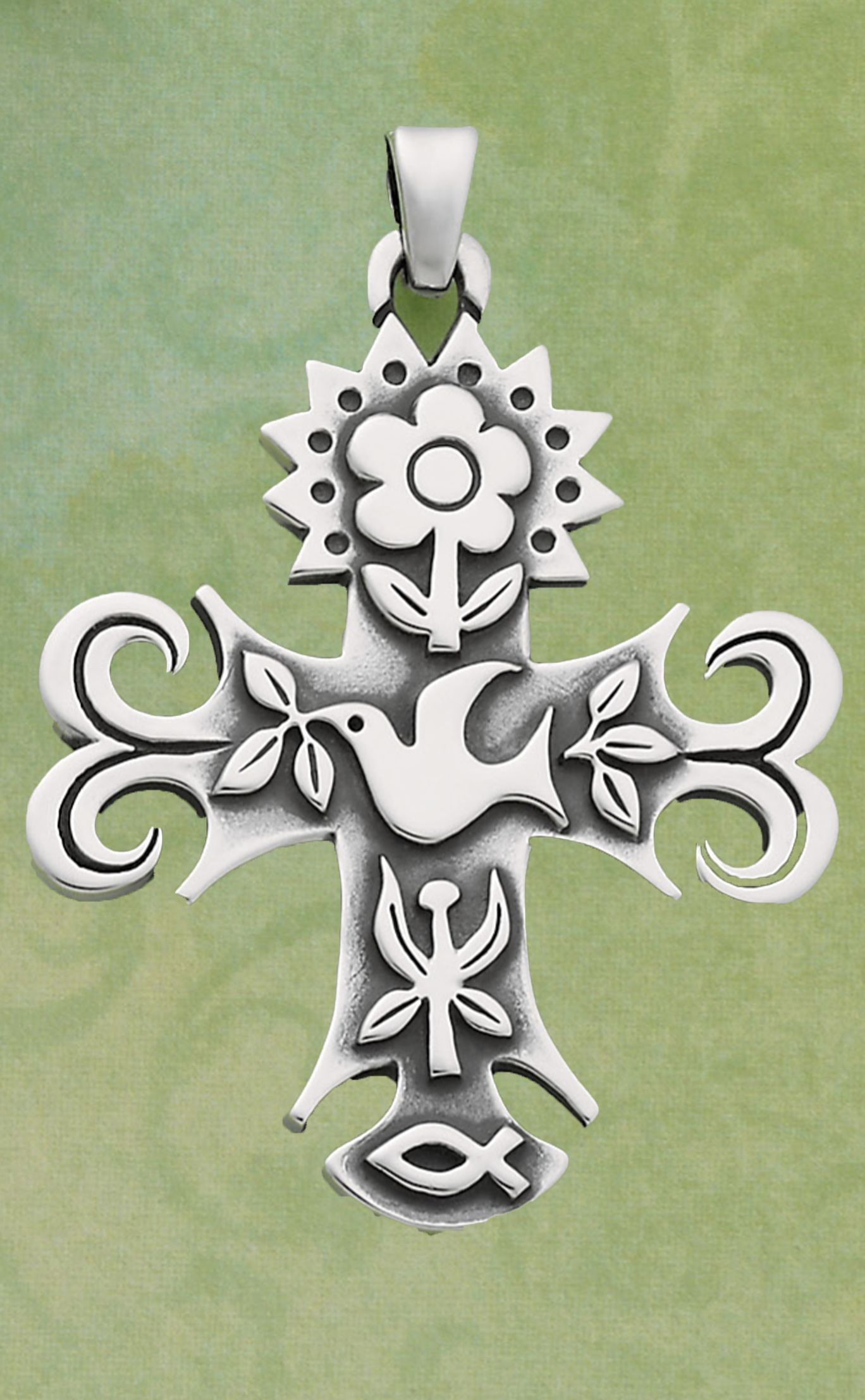 La primavera cross by james avery jewelry i love the beautiful la primavera cross i love the beautiful details every symbol has special meaning this necklace will be a treasured piece that i shall wear often aloadofball Gallery