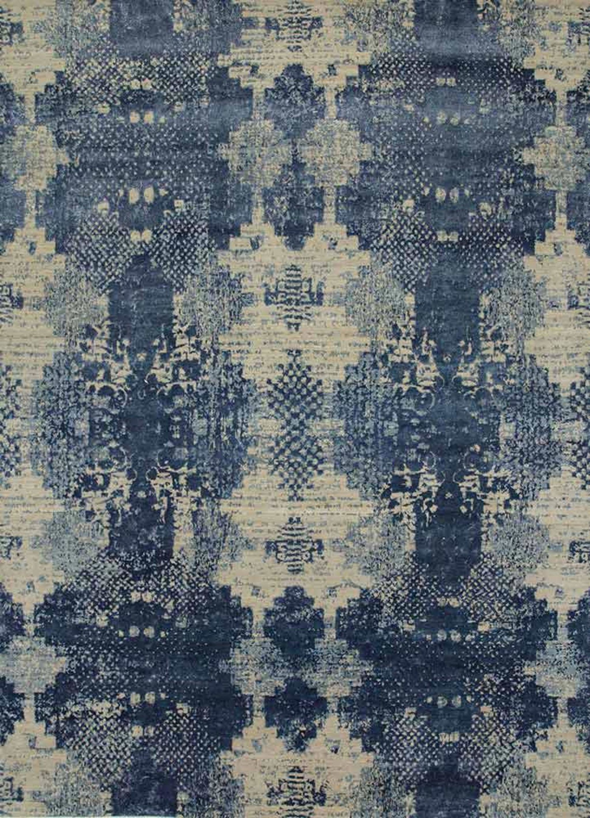 area distressed weathered blue longlac rug casual stripe contemporary modern products